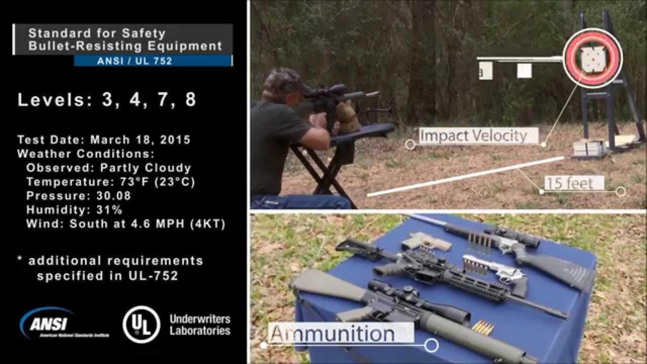 Ballistic Resistant Solutions Video