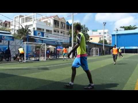 African's All Star's  training ..