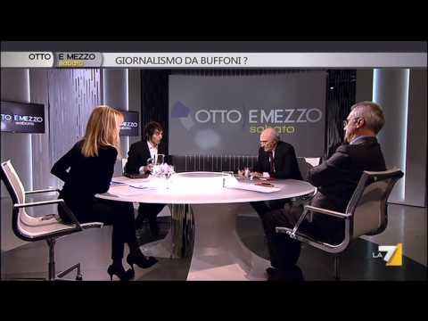 OTTO E MEZZO - GIORNALISMO DA BUFFONI? (Puntata 01/03/2014)