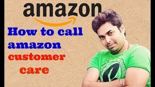 How to call amazon customer care