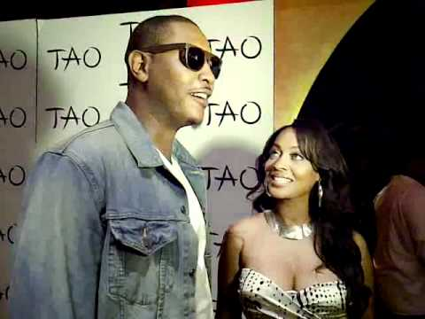Carmelo Anthony And La La Anthony Video Greetings at TAO Nightclub Vegas