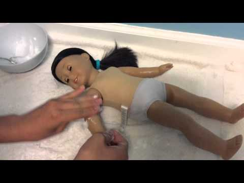 American Girl Doll: How to clean your doll's skin