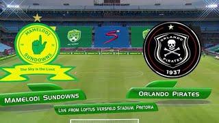 Nedbank Cup | QF | Mamelodi Sundowns v Orlando Pirates | Highlights