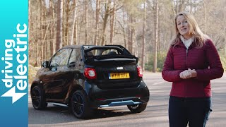 Smart ForTwo EQ Cabriolet review - DrivingElectric