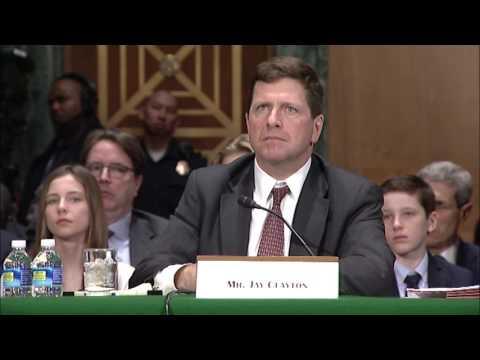 Senator Elizabeth Warren Questions SEC Chair Nominee Jay Clayton