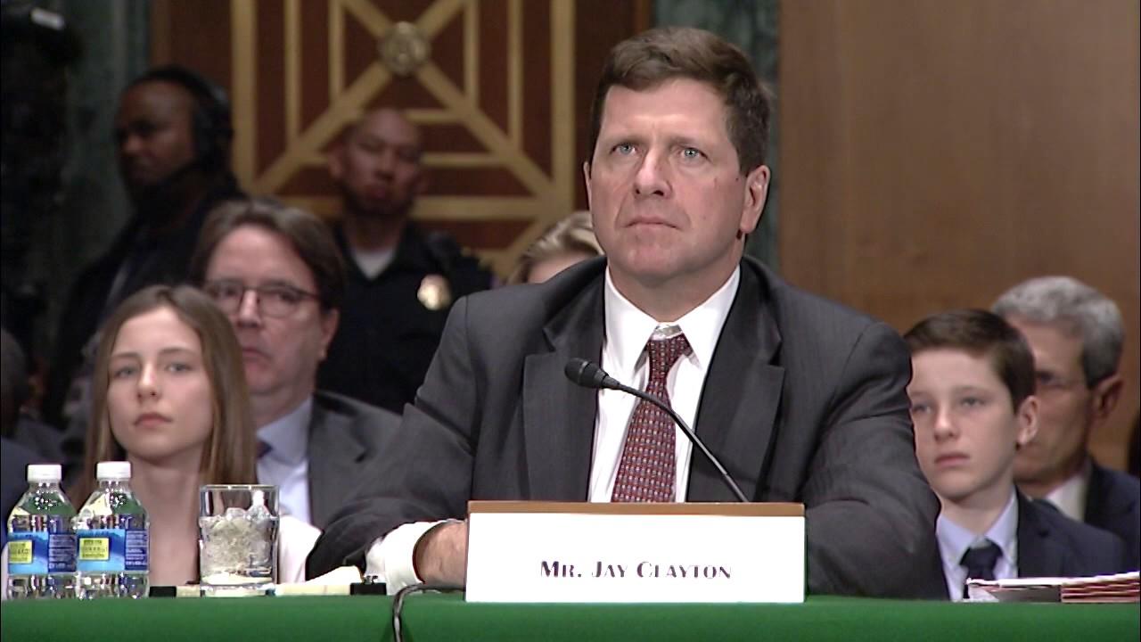 Senate confirms Wall Street lawyer Jay Clayton to lead SEC