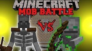 mutant-skeleton-vs-skeleton-friend-minecraft-mob-battles-mutant-creatures-anti-plant-virus-mod