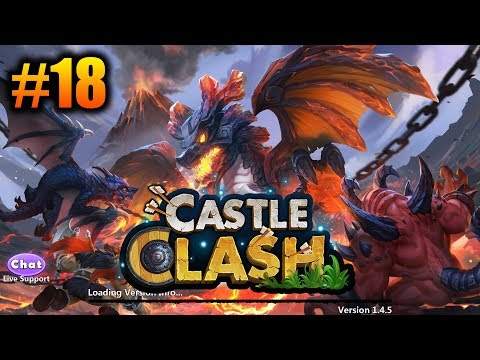 Castle Clash - Boosting Na Team Dungeons [Let's Play #18]