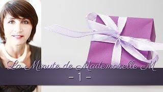 La Minute de Mademoiselle M 1 - Je me lance !...