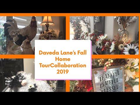 Daveda's Fall Home Tour Collaboration 2019 !