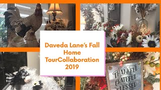 Daveda's Fall Home Tour Collaboration 2019 !