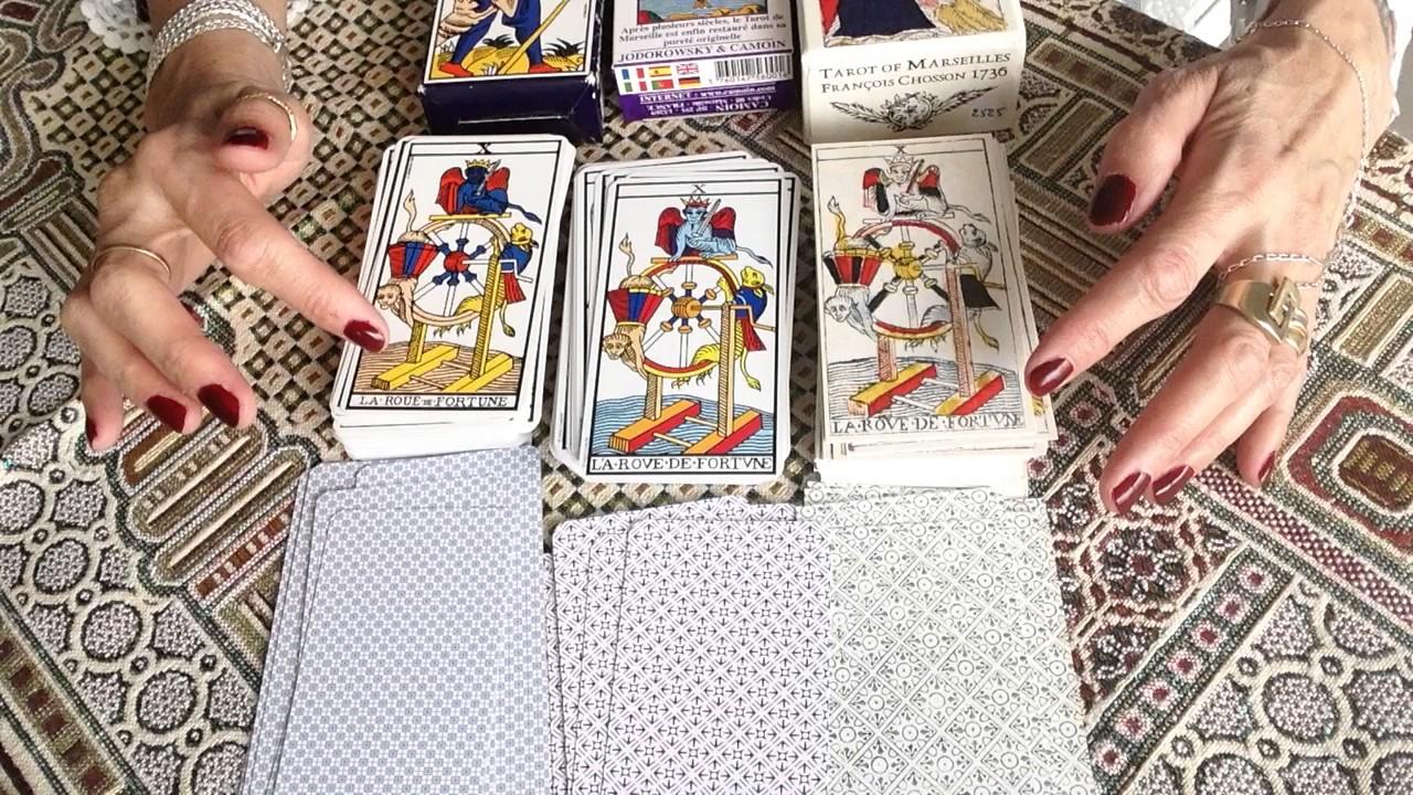 Spielzeug Poker Klassische Kartensets Carte Cards Divination Tarot De Marseille Camoin Jodorowsky Gamersjo Com