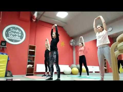 Гимнастика урок 1