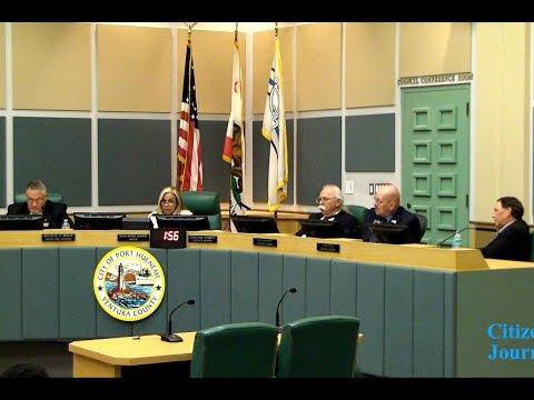 Port Hueneme City Council Meeting 11-16-2015