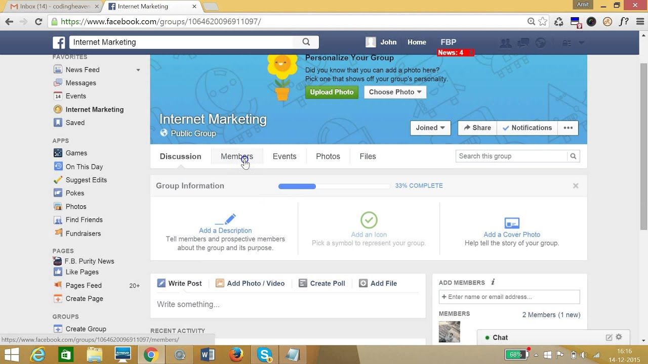 How to delete a facebook group easily youtube how to delete a facebook group easily ccuart Choice Image