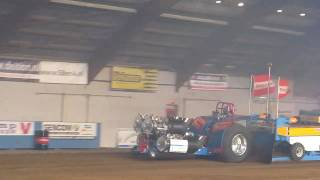 Tractor pulling Zwolle 2011 Rising Star 1ste run.