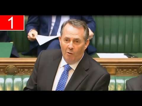 The Commons: Oral Questions to the Secretary of State Liam Fox for International Trade (06Jul17)
