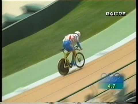 1 Km time trial olympic games Atlanta 1996