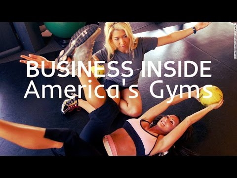 Business Inside America's gyms ( Luxury / 24-hour / Low-Cost )