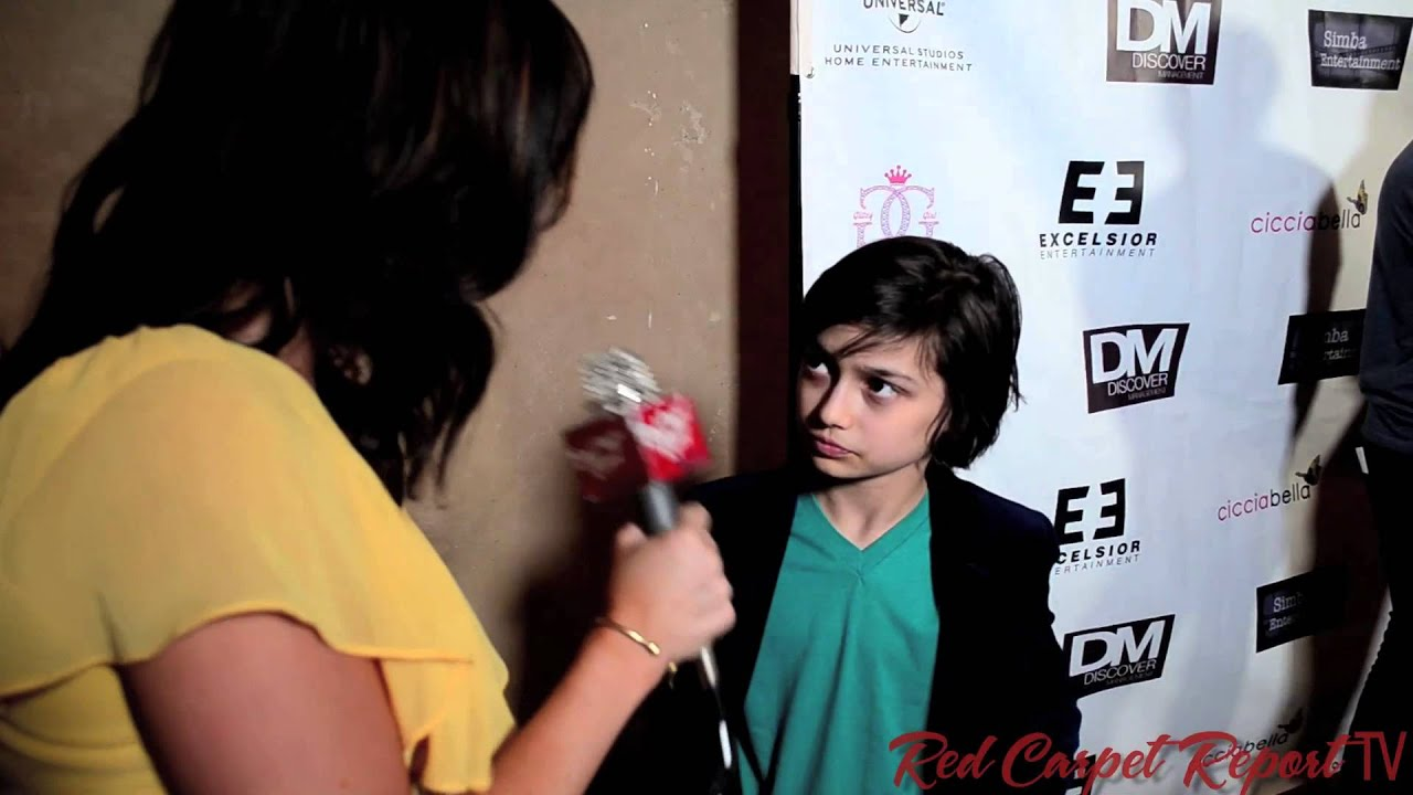 Rio Mangini Woim At The Little Rascals Save The Day Movie Premiere