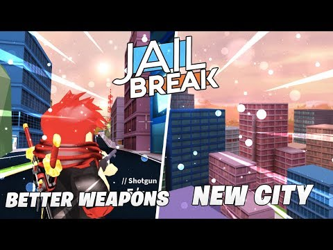 Roblox Jailbreak Live! 🔴NEW CITY Things!🌃 AND Weapons Update!🔫|Spectate Mode!|Come Join me! 😄💖