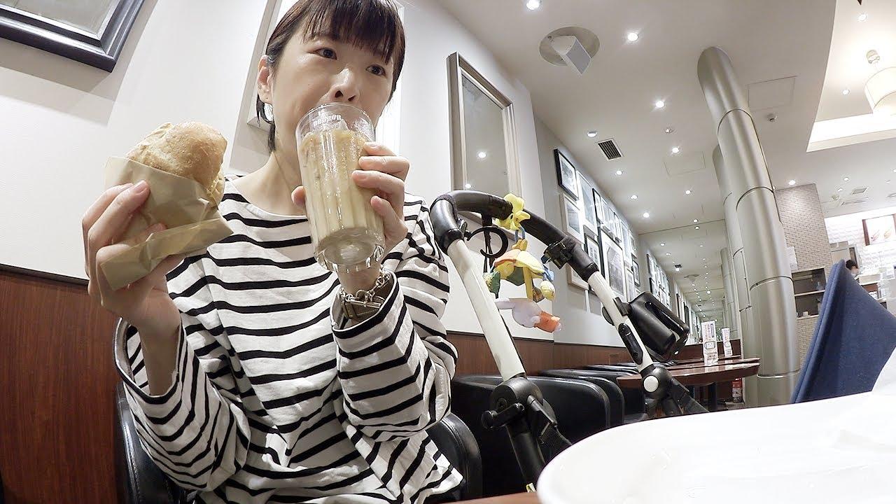 카페에서 아침밥 먹고 집에서 요리하는 오사카 일상   일본 일상 브이로그