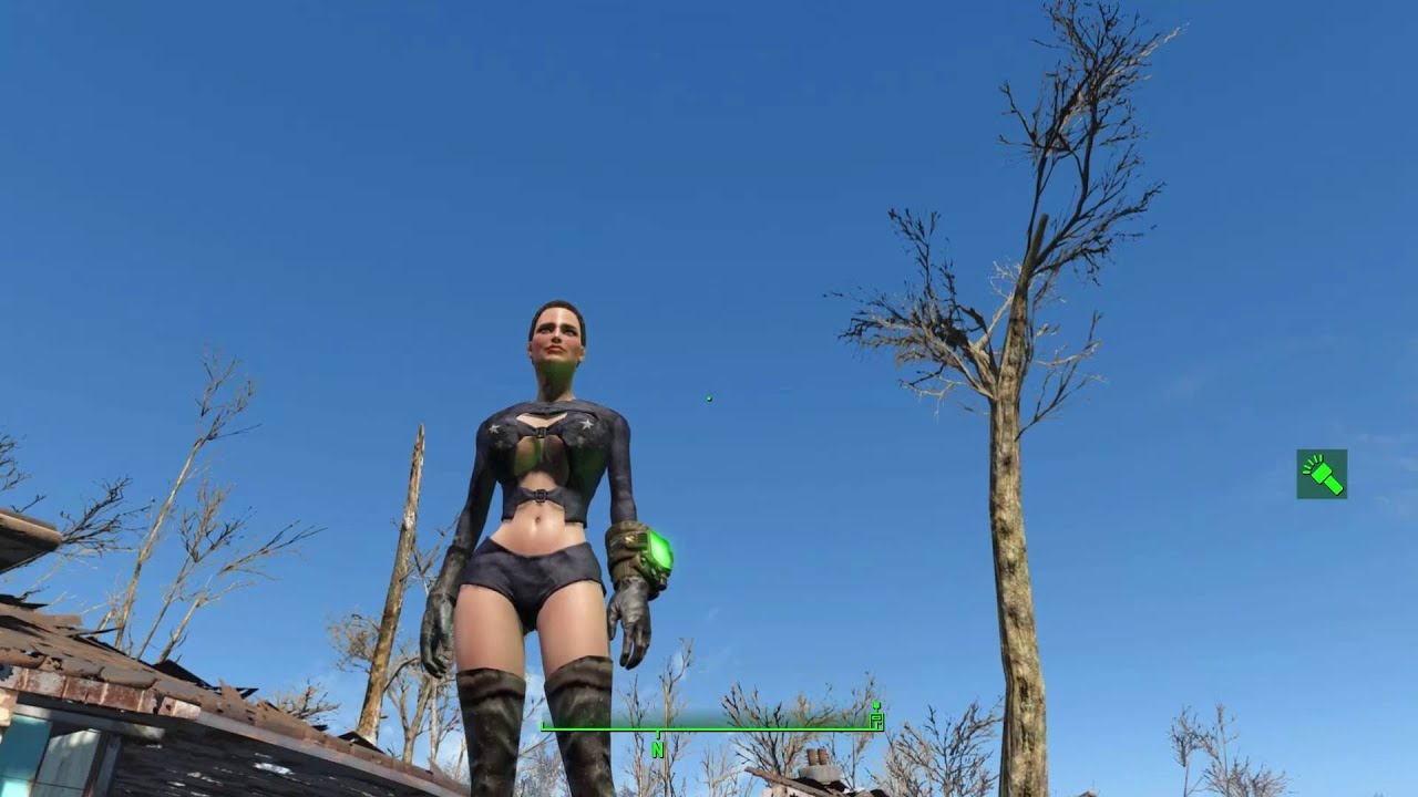 Fallout 4 2pac's CBBE Skimpy Armor and Clothing Replacer