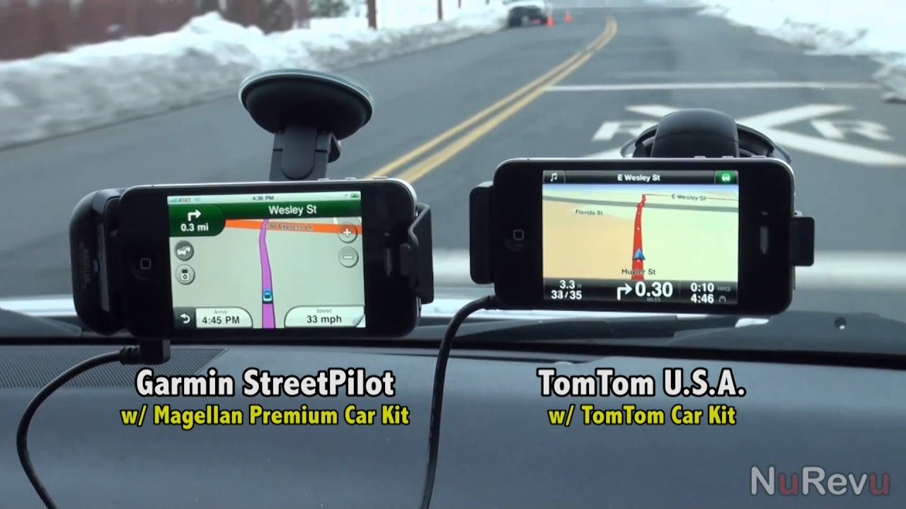 garmin vs tomtom for iphone comparison video app review youtube. Black Bedroom Furniture Sets. Home Design Ideas