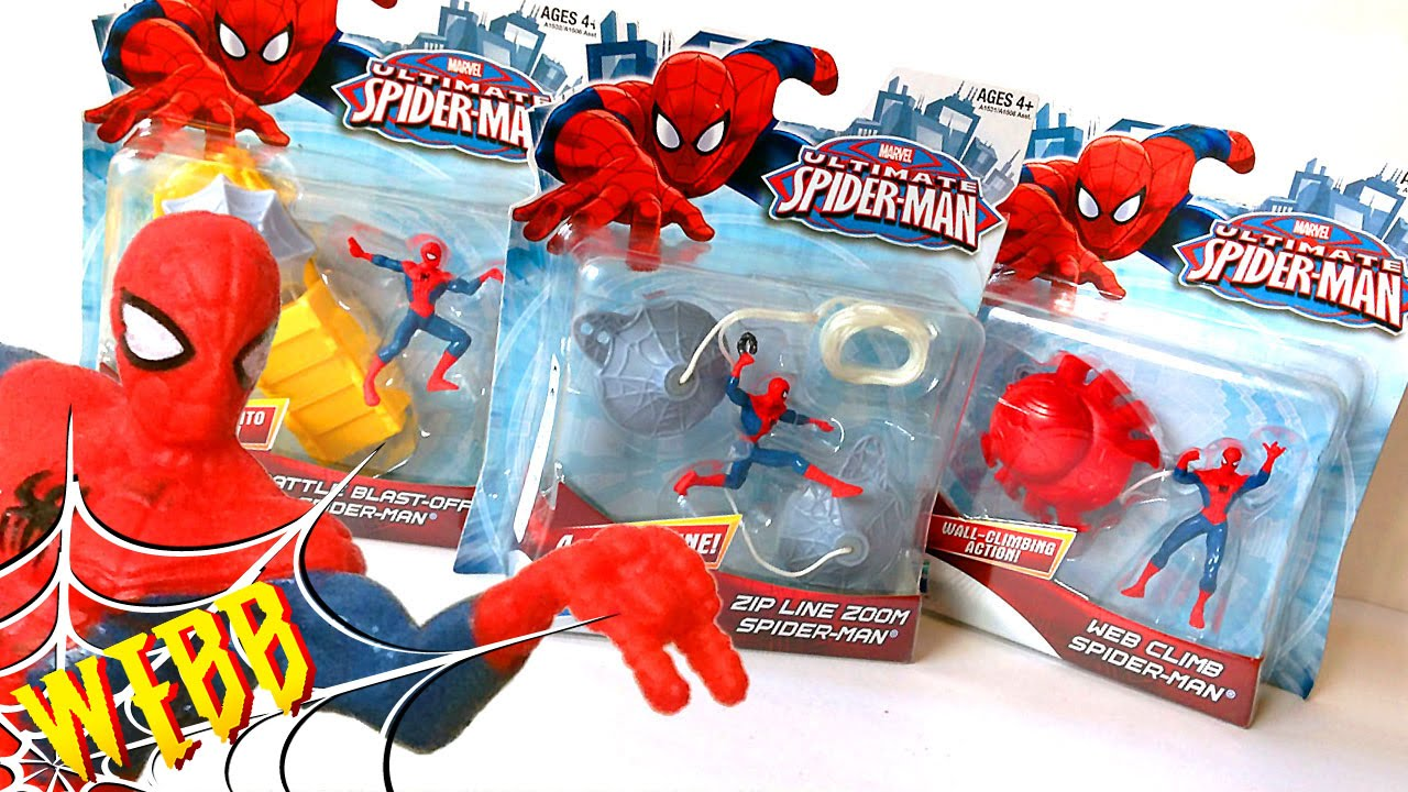Ultimate SPIDER-MAN Toy Reviews - YouTube