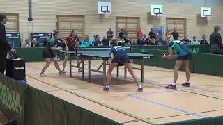 Finale Brickl Eschenbecher vs Lich Zahradnik  20181209  Bayer Jugendm Ansbach Table Tennis Zoom 29