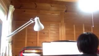 スノーマンの練習風景 音楽:ピアノ 読み聞かせ.