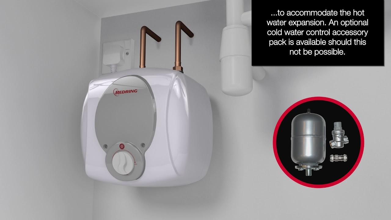 redring undersink stored water heater 6ltr 1 5kw screwfix