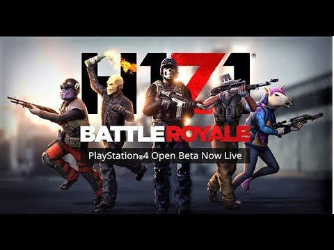 H1Z1 - PS4 RELEASE  // First Time GAMEPLAY + Help Me -Open Lobby