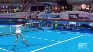 Virtua Tennis 2009 - Vs Duke Gameplay