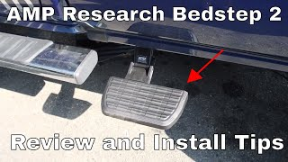 Amp Research Bedstep 2 Review and Install TIPS