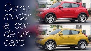 Como mudar a cor de um carro no Photoshop