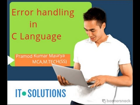 Error handling in C Language