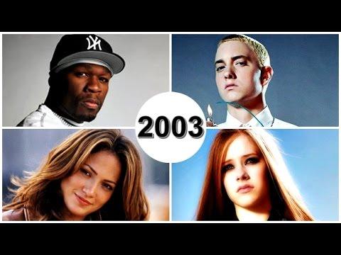 TOP 20 - MELHORES MÚSICAS DE 2003 HD