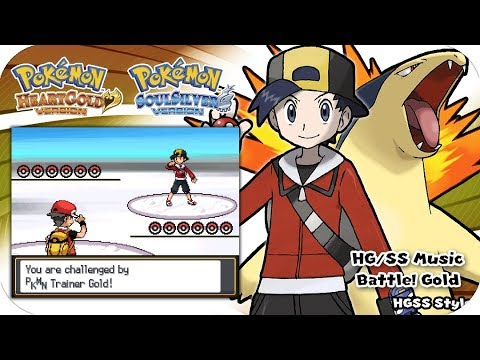 Pokemon HeartGold & SoulSilver - Battle! Trainer Gold Music [Extended]