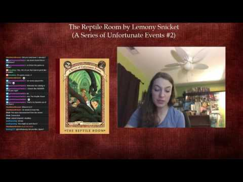 A Series of Unfortunate Events #2: The Reptile Room by Lemony Snicket (Part 1)