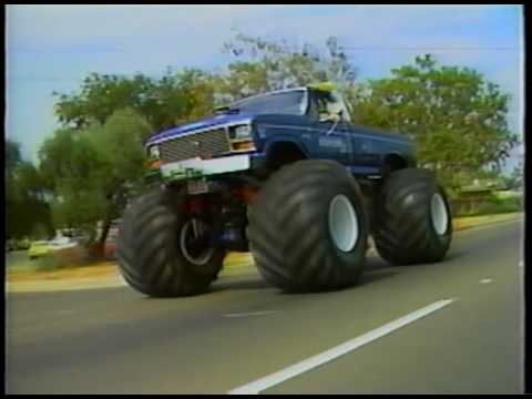 Legend Of Bigfoot The Original Monster Truck Youtube