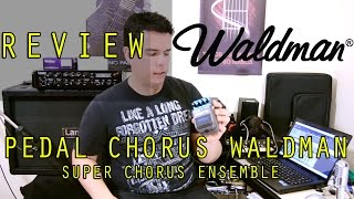 Review Pedal Chorus Waldman - Super Chorus Ensemble -  Bruno Palma