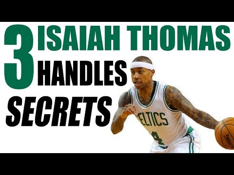 How To Dribble Like ISAIAH THOMAS! Break Ankles: Basketball Moves