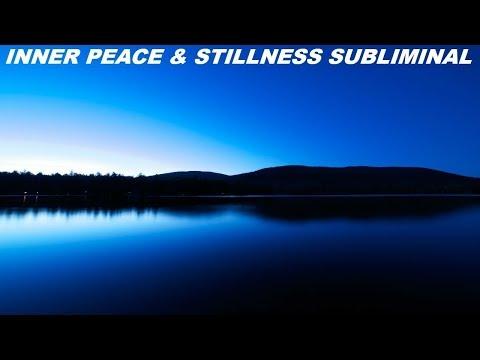 Inner Peace & Stillness Subliminal (Audio + Visual)