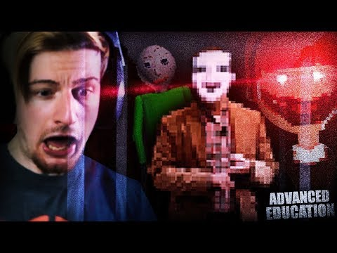 IF BALDI HAD A BROTHER. (THIS IS SCARY) || Advanced Education With Victor thumbnail