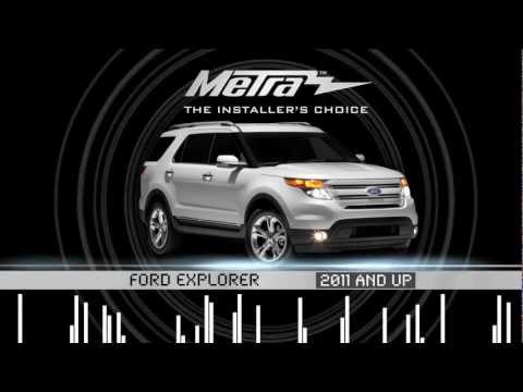 Metra FORD EXPLORER 2011 & UP Kit 99-5828CH