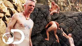 Contestants 2nd Attempt At Challenge Gets Off To A Rocky Start   Naked and Afraid XL