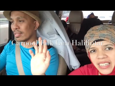 Happy Birthday Qahtan Halilintar - Gen Halilintar's Carpool talk