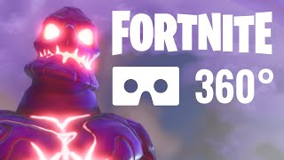 [360° video] Fortnite Battle Royale Monsters Google Cardboard VR Box 4K