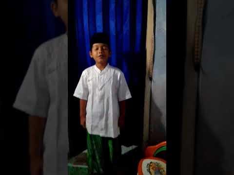 Pidato anak (Isra' Mi'raj)